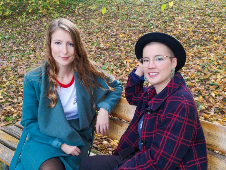 Katharina Völker und Marie Wagener
