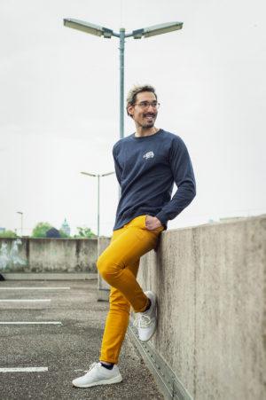 MALAIKA West Coast Sweater          unisex blau