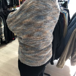 Vintage Pullover hellblau
