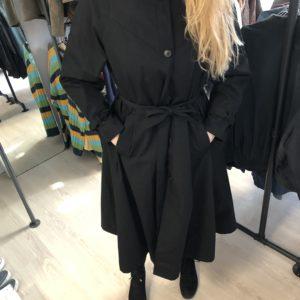 Vintage Trenchcoat schwarz