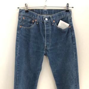 Vintage Jeans Nilkrokodil 501 W31 L34 blau