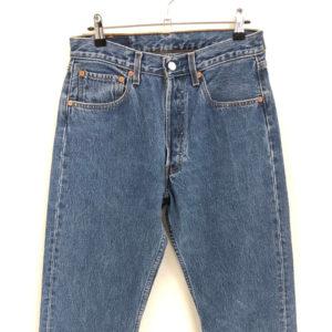 Vintage Jeans Quittenwaran 501 W31 L34 blau
