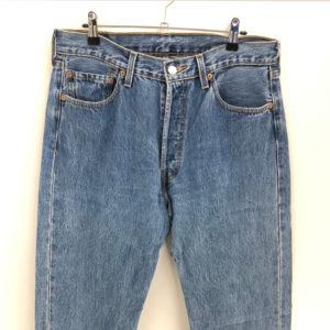 Vintage Jeans Rotbarsch 501 W34 L32 blau