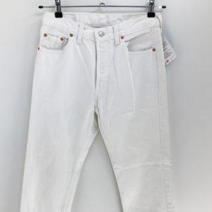 Vintage Jeans Rotbauchunke 501 W34 L32 weiß