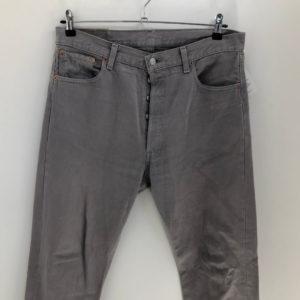 Vintage Jeans Thunfisch 501 W36 L32 grau
