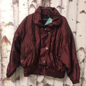 Vintage Jacke weinrot