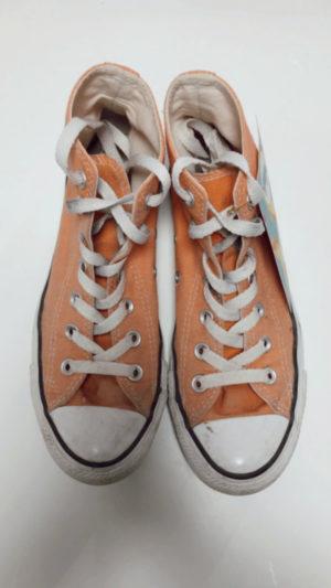 Vintage Chucks 4 orange 37