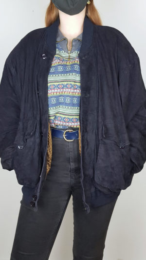 Vintage Lederjacke 8
